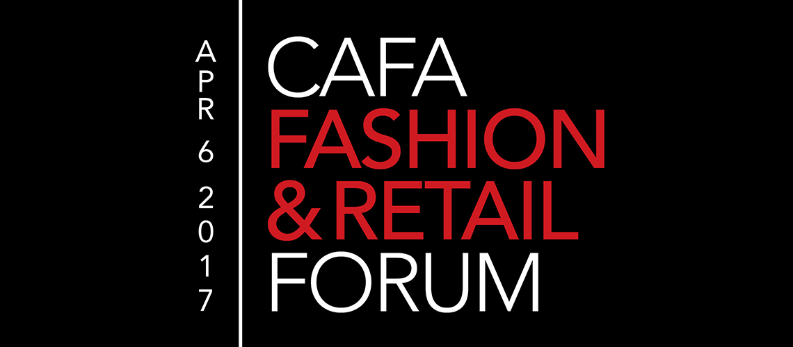 CAFA Fashion & Retail Forum – 6 avril 2017