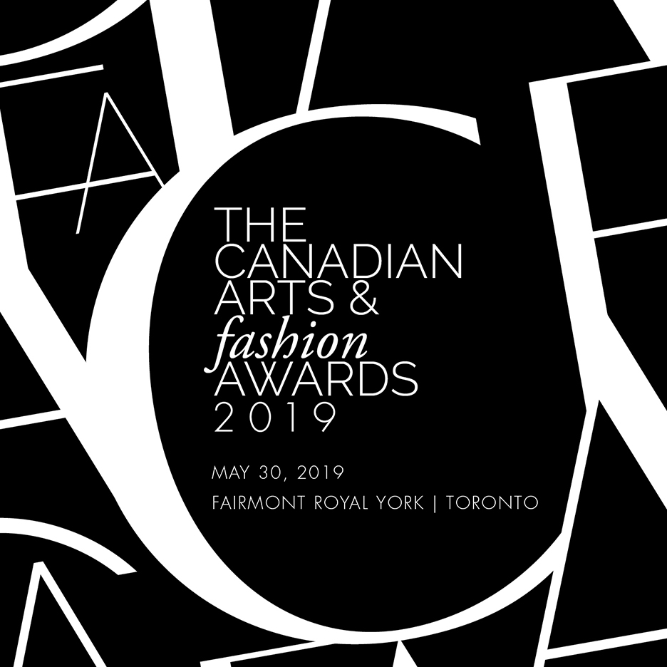Fashion style Arts canadian fashion awards announced for lady